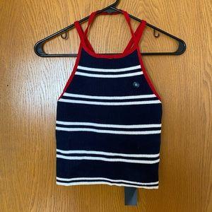 Hollister Knit Striped Cami